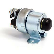 Classic mini starter motor solenoid with push button start  New
