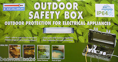 Outdoor Power Safety Connection Box - IP64 rated