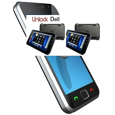 DELL unlock code, for any DELL models/any GSM network