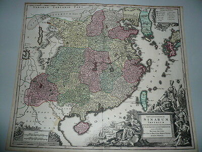 China,Generalmap,Seutter M., anno 1730, contemporary co