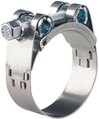 NORMACLAMP® GBS HEAVY DUTY 68 to 73mm T BOLT HOSE CLAMP ALL 304 STAINLESS STEEL