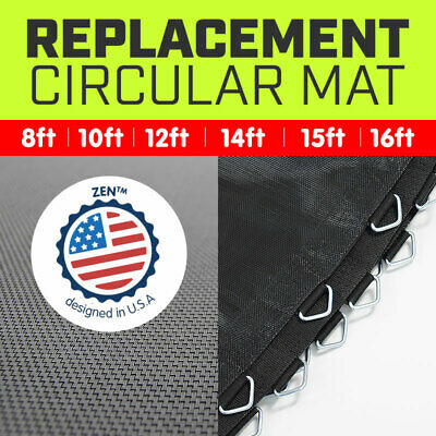 REPLACEMENT TRAMPOLINE SPRING MAT ROUND OUTDOOR SPARE PART 8 10 12 13 14 15 16ft