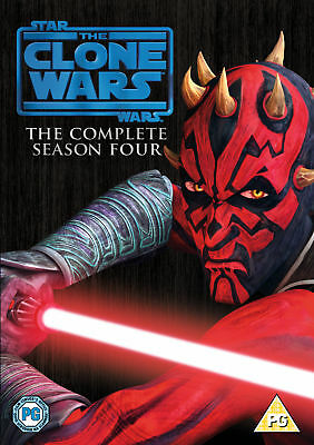 Star Wars: The Clone Wars Season 4 Complete (5 Disc) (DVD)
