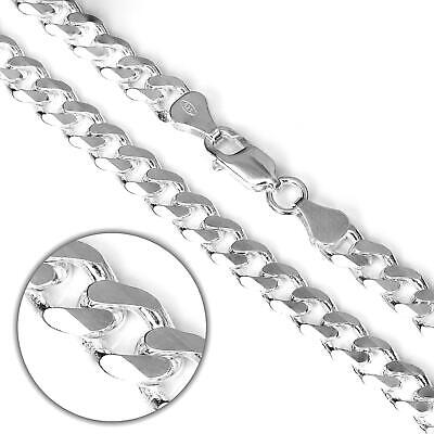 "925 Sterling Silver Curb Belcher Chain Box Snake Necklace 16 18 20 22 24 "" Inch"