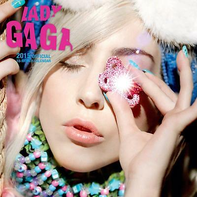 Sale !! Sale !! Official 2015 Uk Square Wall Calendar Of Lady Gaga Sale !!