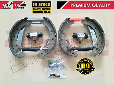 For Astra G Rear Drum Hand Brake Shoes Wheel Cylinder Fitting Kit & Adjusters