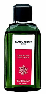 PARFUM BERGER PARIS recharge 200 ml bouquet parfumé ABSOLU DE VANILLE