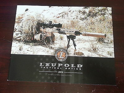 Leupold Tactical Products Catalog Booklet / 2013 / New / 45 Pages
