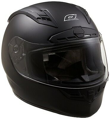 NEW O'Neal Fastrack II Motorcycle Helmet with Bluetooth Technology (Flat Black)