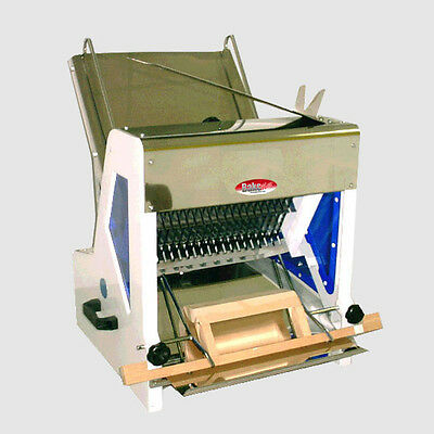 """Bakemax Commercial Gravity Feed 9/16"""" Bread Slicer Bmgf001-3"""