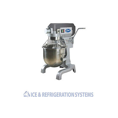 General Commercial Planetary 3 Speed 20 Quart Stand Dough Mixer Gem120