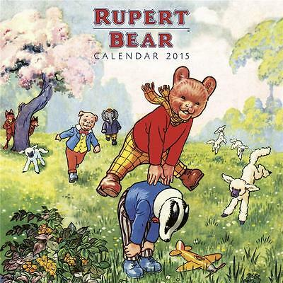 Sale !!! Sale ! Rupert Bear 2015 Uk Square Wall Calendar  New And Factory Sealed