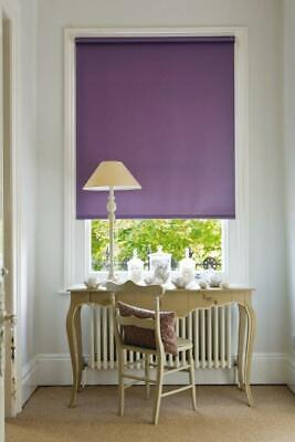 Plain Dyed Blackout Thermal Easy Fit Roller Blinds With Free Shipping