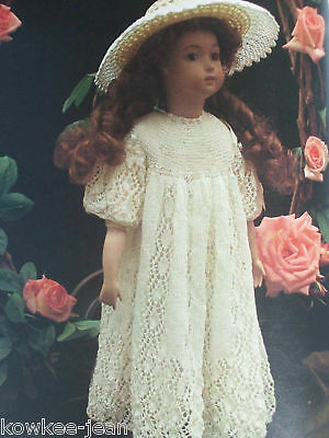 Heirloom Knitting for Dolls: classic gorgeous vintage clothes patterns SC ..PICS