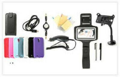 20-Item Accessories Bundle For Samsung Galaxy S4