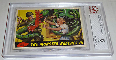1962 Mars Attacks The Monsters Reach In # 31 BGS BVG 6 Like PSA