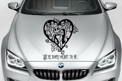 NIGHTMARE BEFORE CHRISTMAS JACK AND SALLY QUOTE CAR DECAL VINYL GRAPHIC