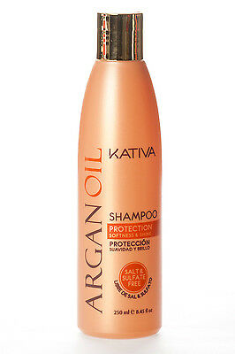 Kativa Argan Oil Shampoo Salt Free 250 ml / 8.45 fl.oz.