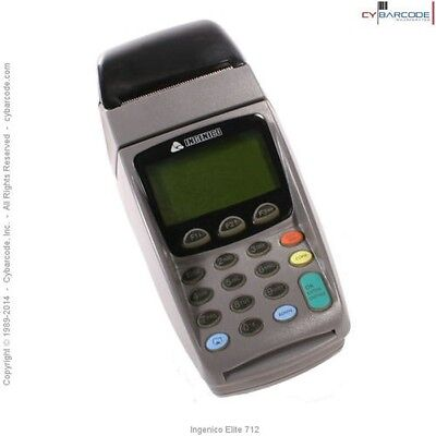 ingenico Elite 712 POS Credit Card Terminal Reader