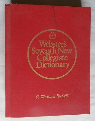 Webster's Seventh New Collégiate Dictionary – A Merriam Webster – 1972 –– en ang