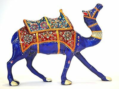Large animal CAMEL figurine statue decorative collectible handcarved Rajasthan
