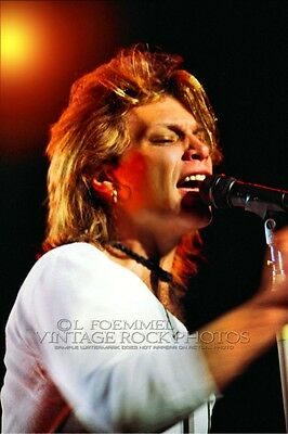 Jon Bon Jovi Photo 8x12 or 8x10 inch Live '80s Concert Pro Print Exclusive  L10