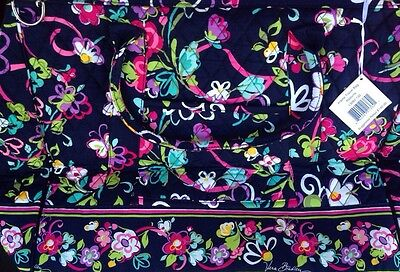 Vera Bradley Ribbons Travel Frame Luggage Bag SOLD OUT NEW!!