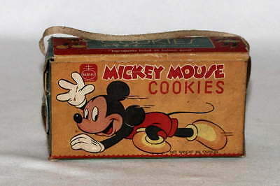 """RARE """"NEVER OPENED"""" DISNEY1950's NABISCO """"MICKEY MOUSE/DONALD DUCK COOKIES"""" BOX"""