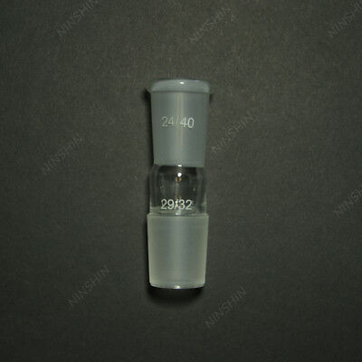 Glass Reducing Joint,Upward joint 24/40,Downward joint 29/32,lab glassware