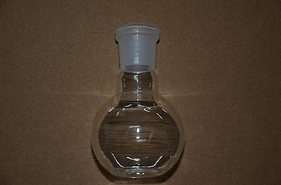 100ML,24/29,1-neck,Plat Bottom Glass Flask,Single Neck,Chemistry Boiling Flask