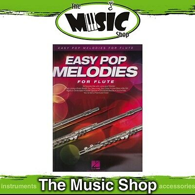 New Easy Pop Melodies for Flute Music Book - Beginners Songbook
