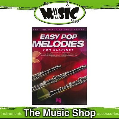 New Easy Pop Melodies for Clarinet Music Book - Beginners Songbook