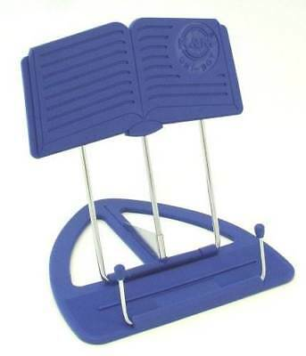 The 'CLASSIC' Book Stand Book Holder Blue