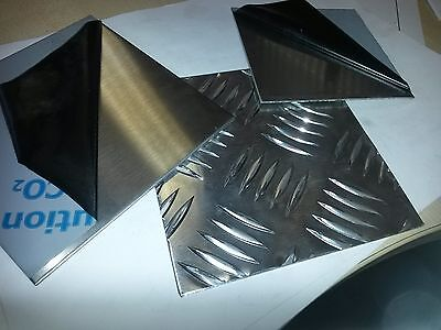 Stainless Steel / Aluminium sheet / Chequer Plate / Metal Sheet / Brushed Metal