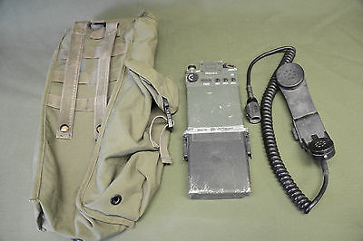 RT1547 PRC-126 Military HAM Radio - Good Working Condition With Bag and Handset