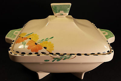 PRETTY BURLEIGH WARE ART DECO SERVING TUREEN  ZENITH DESIGN