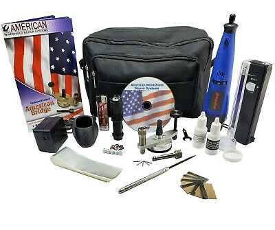Windshield Repair Kit Auto Glass Repair System rock chip kit MINI