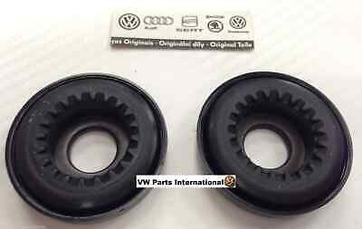 VW Golf MK4 GTI R32 Pair Front Strut Top Mount Bearings Genuine New OEM VW Parts