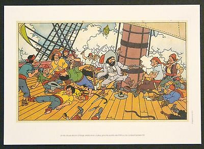 Rare Tintin  Reproduction  Hergé Unpublished Work (1950)   Ready To Frame