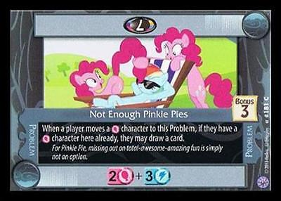 4 Not Enough Pinkie Pies - 181 Near Mint, English My Little Pony Premiere Editio