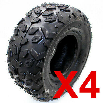 "4 x 145/70- 6"" inch Tyre Tire 50cc 70CC 110cc KIDS ATV Quad Bike Go Kart Buggy"
