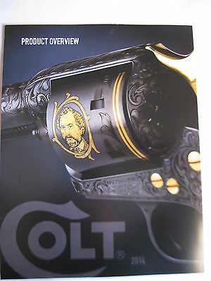 Colt 2014 Product Overview Booklet / 3 Page Foldout