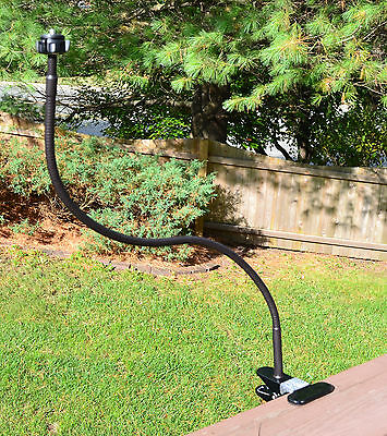 Tree Stand Trail Hunting Extra Long Bendy Mount for Camera Camcorder & Videocam