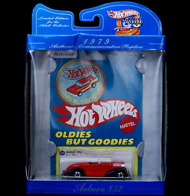 1979 HOT WHEELS Limited Edition Commemorative  AUBURN 852 Diecast 1:64 Scale