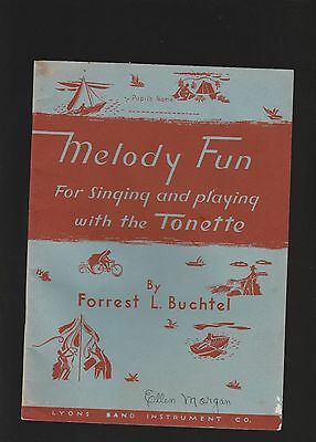 Melody Fun For Singing and Playing The Tonette-1938 Booklet