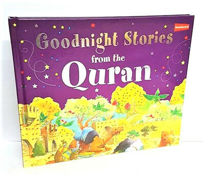 Goodnight Stories from the Quran - Childrens Book (Hardback)