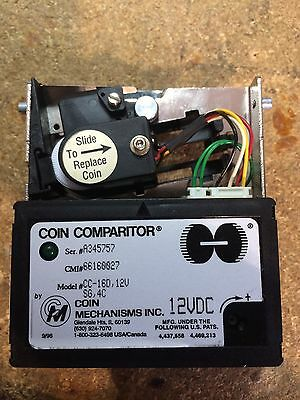 Coin Mechanisms Coin Comparitor, CC-16D, 12V SG, 4C NEW 12 Volts