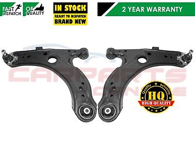For Skoda Octavia Mk1 99-04 Front 2 Lower Suspension Wishbone Control Arms Arm