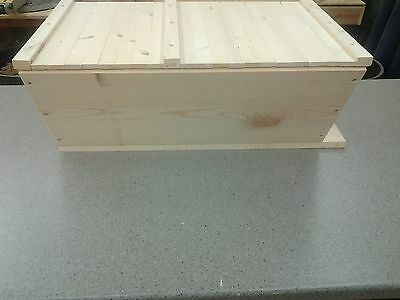 Bee Hive, Top Bar with 20 Top Bars Backyard Bee Keeping Hive