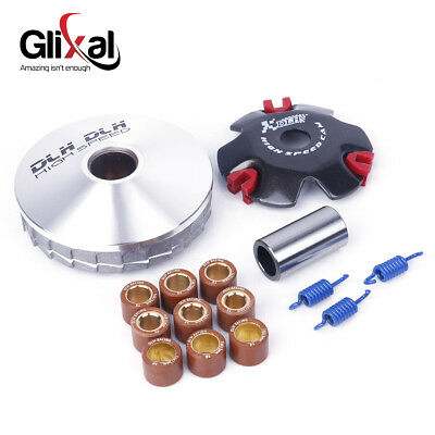 DLH GY6 50cc 139QMA 139QMB High Performance Scooter Variator Kit Drive Pulley